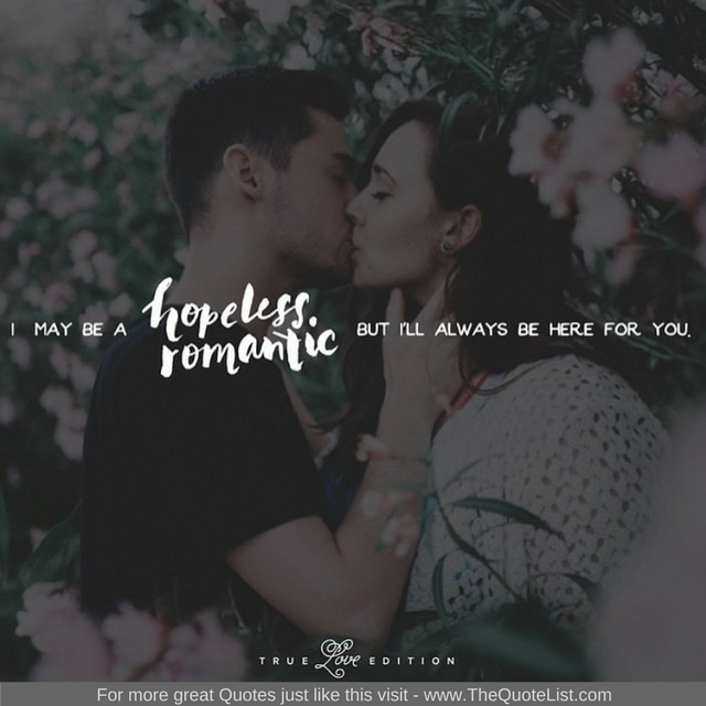 """Hopeless Romantic"" - Unknown Author"